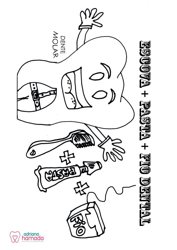 Desenhos Pra Colorir Adriana Hamada